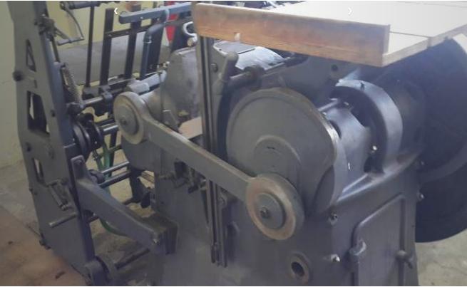 Gietz Presto, Die cutting machine