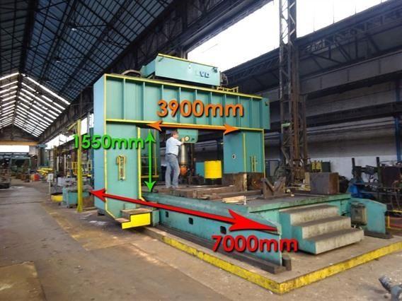 LVD mobile straightening press 400 Ton