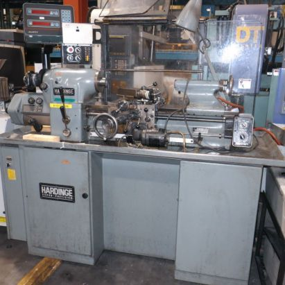 Hardinge Toolroom Lathe 3000 rpm HLVH-EM with DRO
