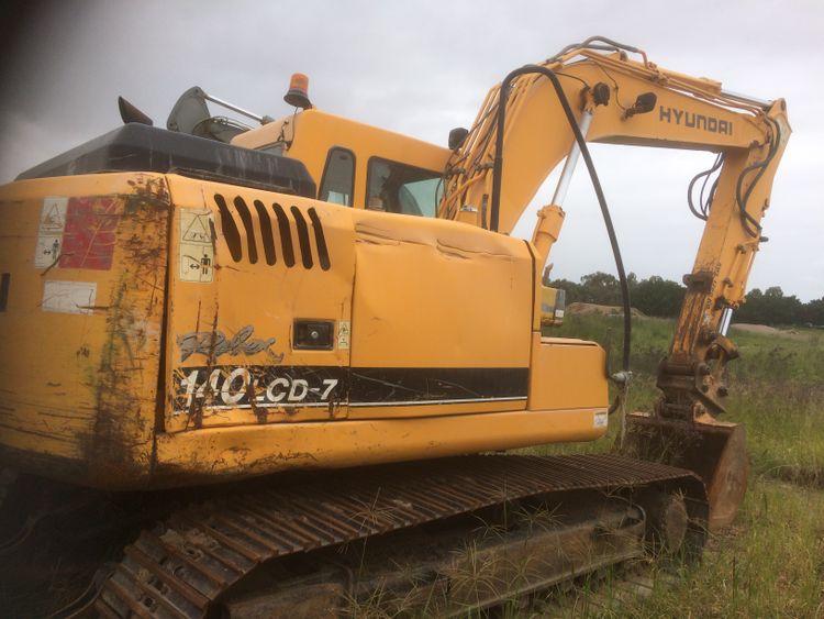 Hyundai R140LCD-7 Excavator