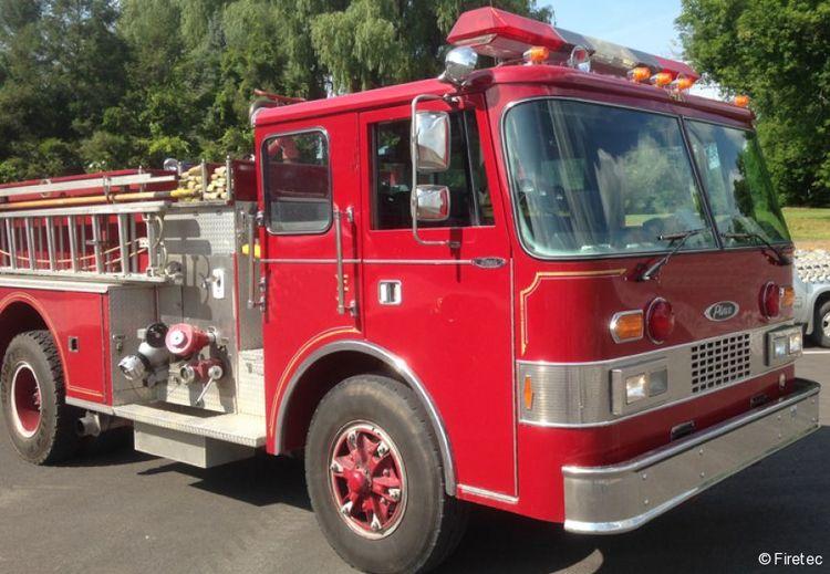 Dash, Pierce Fire Truck