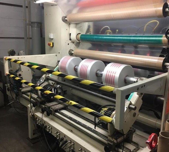 Euromac Slitter rewinder 1400 mm