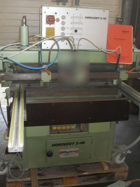 Ayen HORIVERT 2-46, Dowel boring machine / hole line drilling machine
