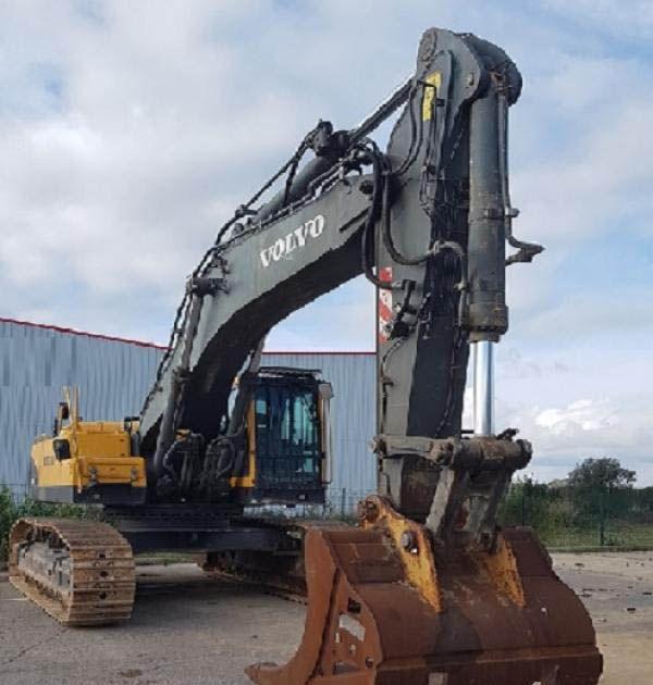 Volvo EC 460 BLC Tracked Excavators