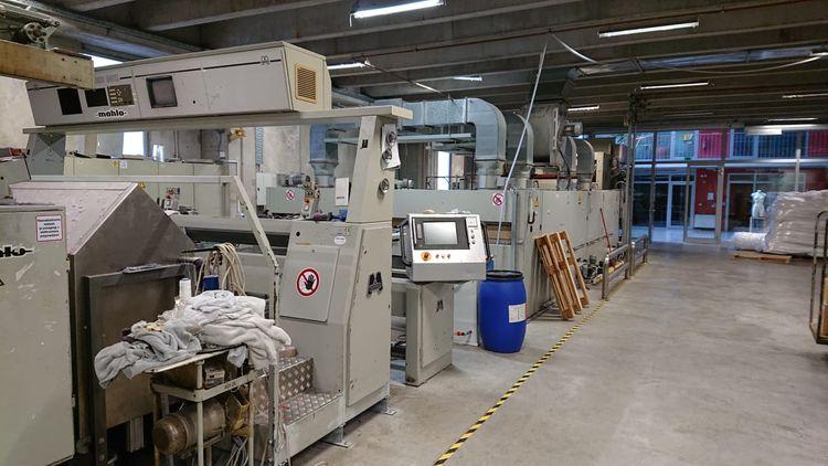 Monforts Montex 240 Cm 4 chambers Stenter