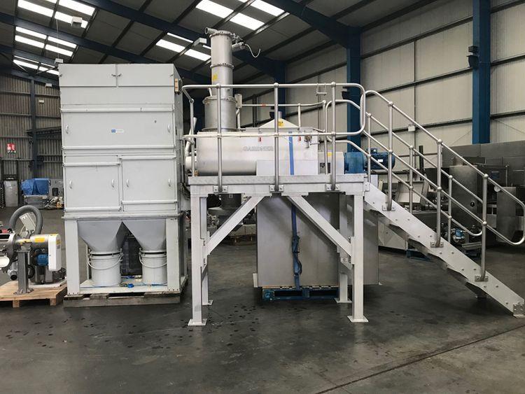 Kemutec Gardner Powder mixing system