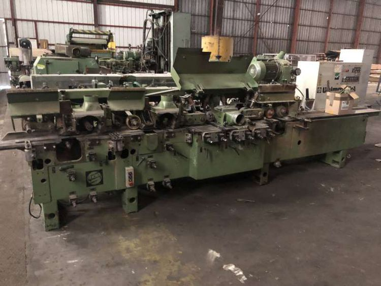 Weinig Four faces moulder 8 pin