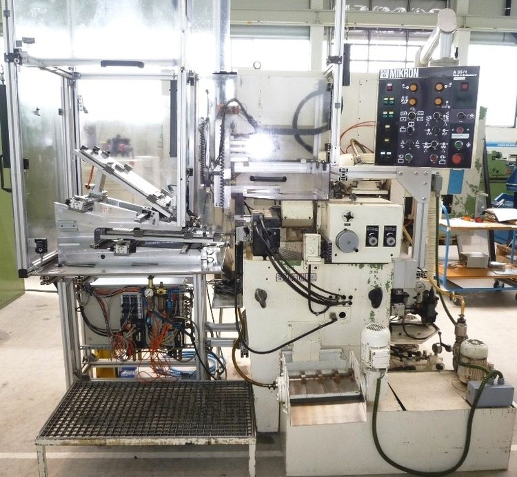 Mikron A 33 / 1 Max. 2000 rpm Fully Automatic Gear Hobber for  Worm Gears