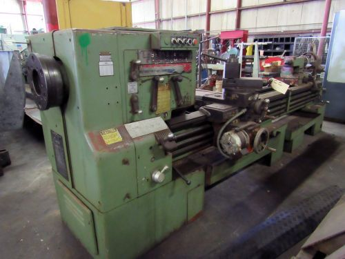 "Leblond Engine Lathe 900 rpm LEBLOND REGAL ENGINE LATHE WITH 5-1/4"" SPINDLE BORE"