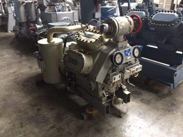 Sabroe SMC 108E 412 kW/121 tons