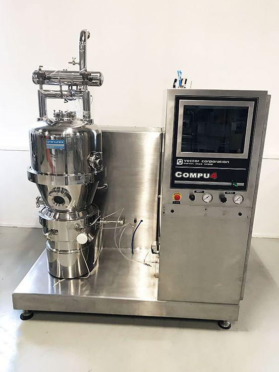 Vector Granurex GX40 Fluid bed granulator
