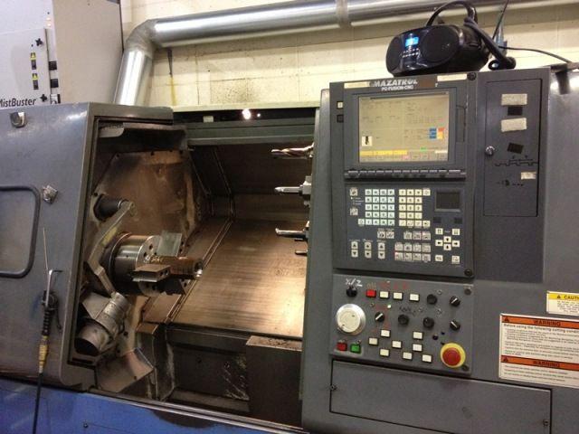 Mazak MAZATROL FUSION 640T Max. 3300 rpm QT 300 2 Axis