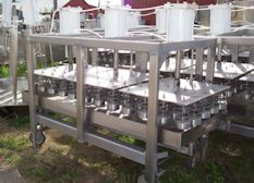 Kusel 60 head Vertical Cheese Press