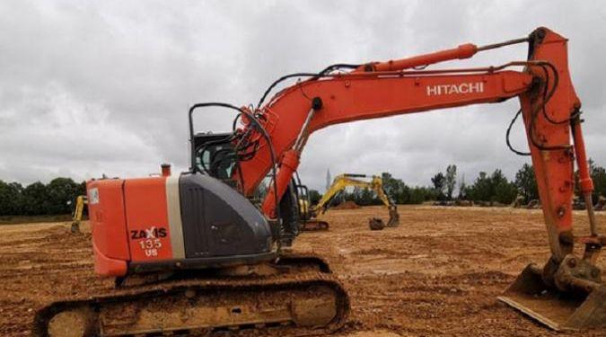 Hitachi ZX 135 US-3 Tracked Excavators