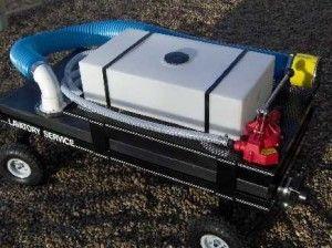 Potable Lavatory Cart