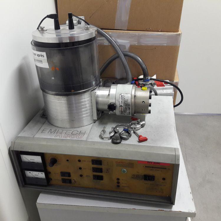 2 Emitech Carbon Evaporator Sputter Carbon Evaporator Sputter
