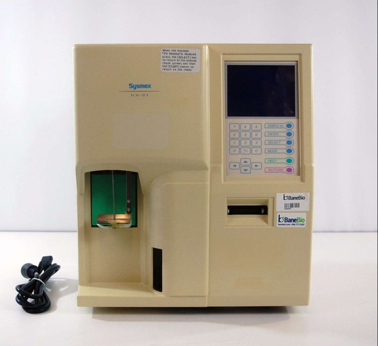 Sysmex KX-21, Hematology Analyzer