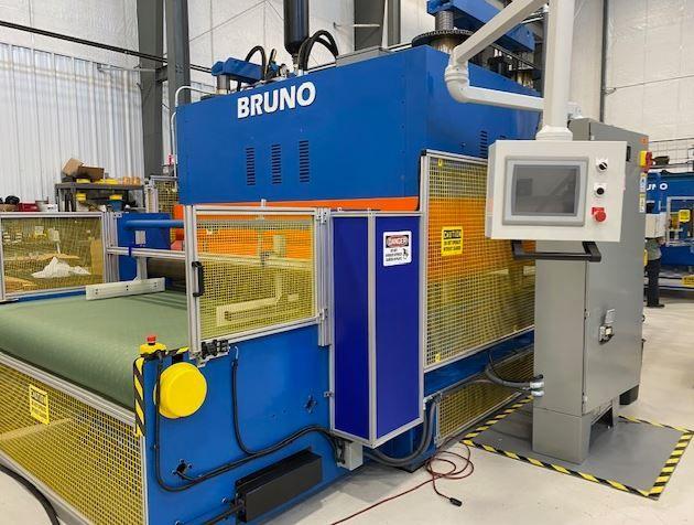Bruno 500 Ton Toggle Press