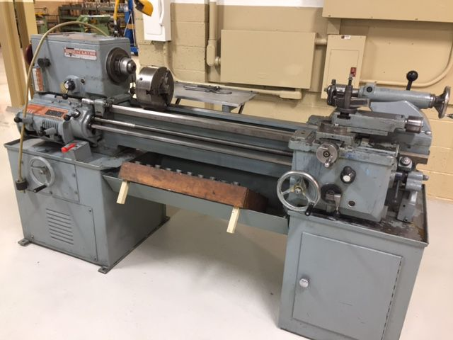 "Rockwell TOOLROOM LATHE 1600 rpm 14"" X 40""  1980"