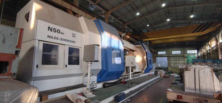 Niles Siemens Sinumerik 840D CNC Control Variable N50 MC-6000 Multi Tasking Lathe 2 Axis