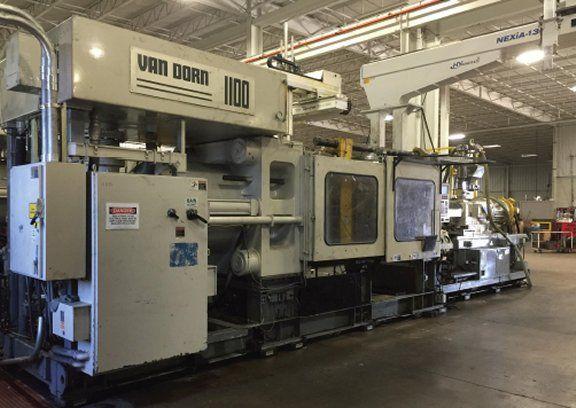Van Dorn 1000HP-125 1100 Ton