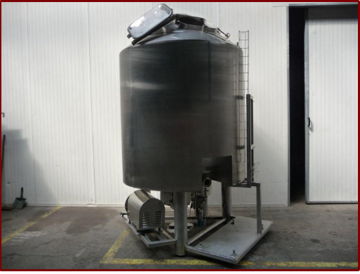 2 Stephan 2000 L Cooking tank