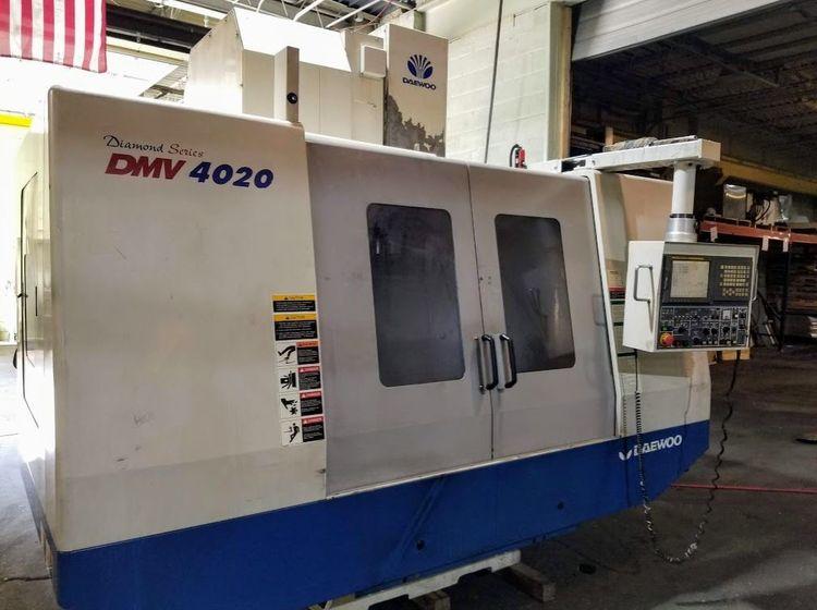 Daewoo DMV-4020 3 Axis
