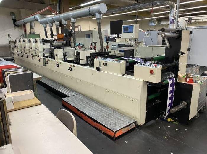 Codimag Viva 340, Label-Printing machine