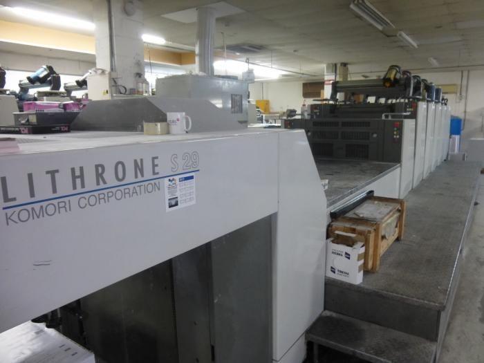 Komori LS 529C 520 x 740 mm