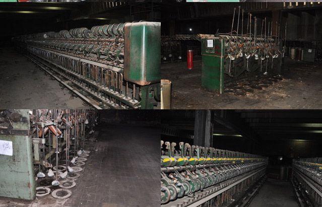 Mackie Spinning machines