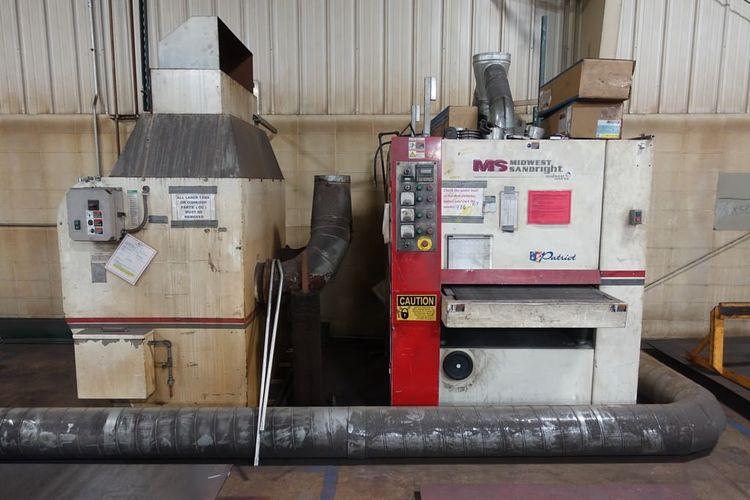Midwest Sandright Deburring & Finishing Machine E3 3775M DDB