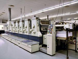 "Komori Lithrone 528 + Coater, Offset 5 Colours Press Machine 20"" x 28"""