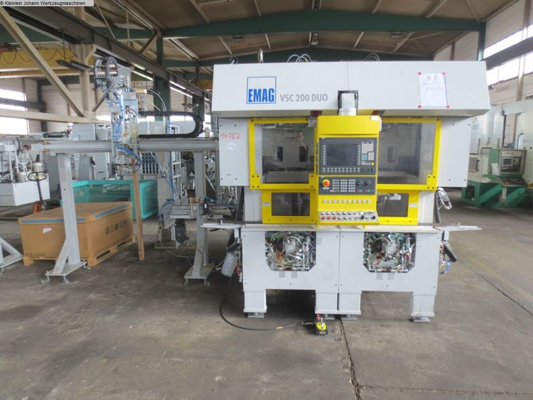 Emag VSC200DUO Vertical Turning Machine