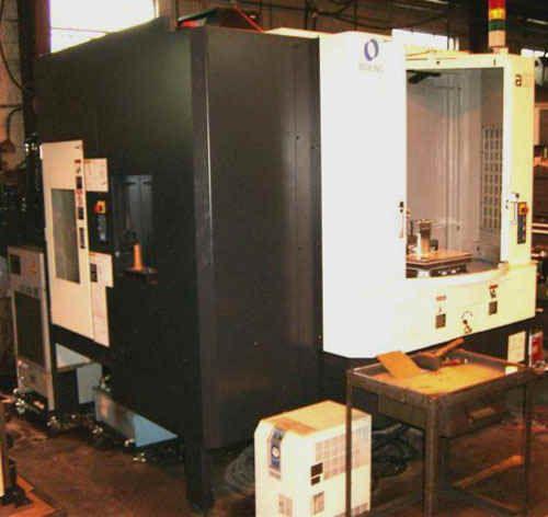 Makino A51 CNC Horizontal Machining Center 4 Axis