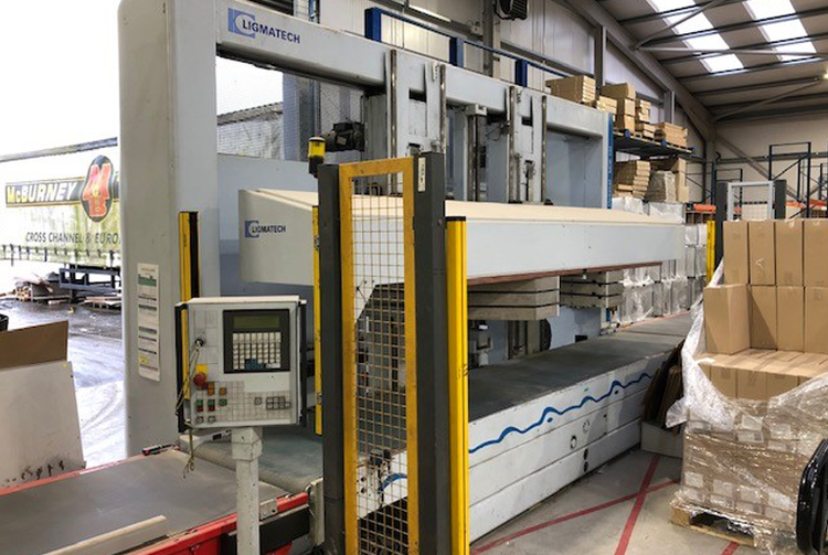 Ligmatech MDE 100, Automated Carcase Clamp