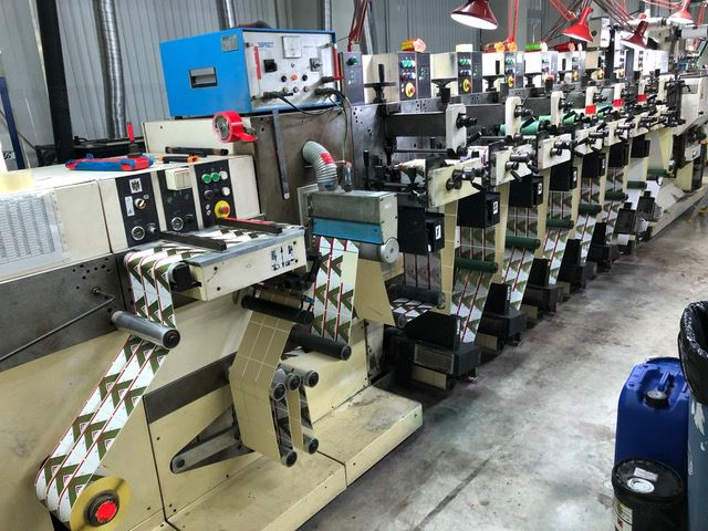 Nilpeter F 2400, Flexographic printing press
