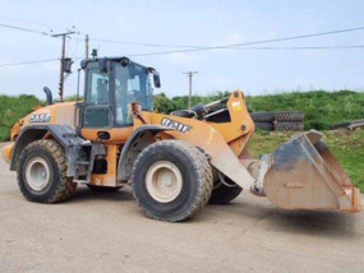 Case 821 F Wheel Loader