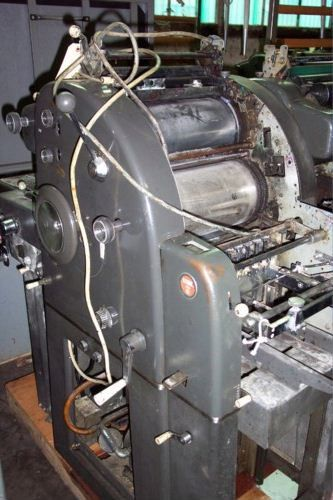 "AB Dick 360, 1 color Offset machine 11"" X 17"""