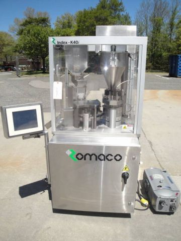 Index, Romaco K40i  AUTOMATIC ENCAPSULATOR