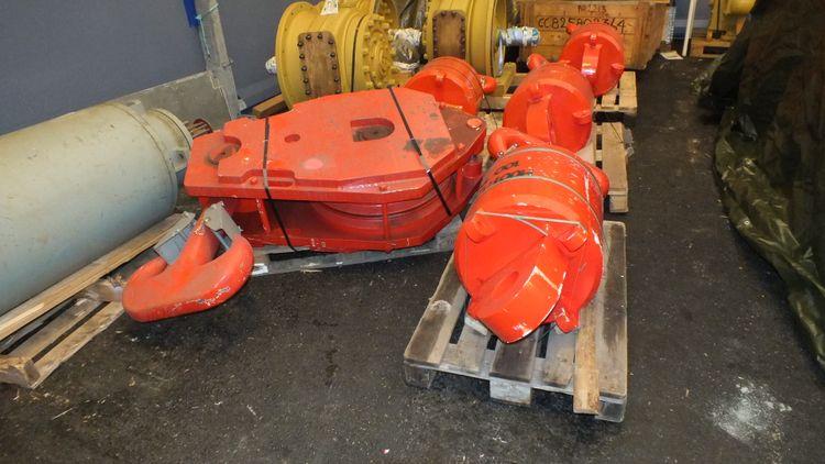 2  Ropeblock BV Hook, Crane