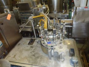 Pacific 12 HEAD, AUTOMATIC ROTARY POSITIVE DISPLACEMENT FILLING MACHINE.