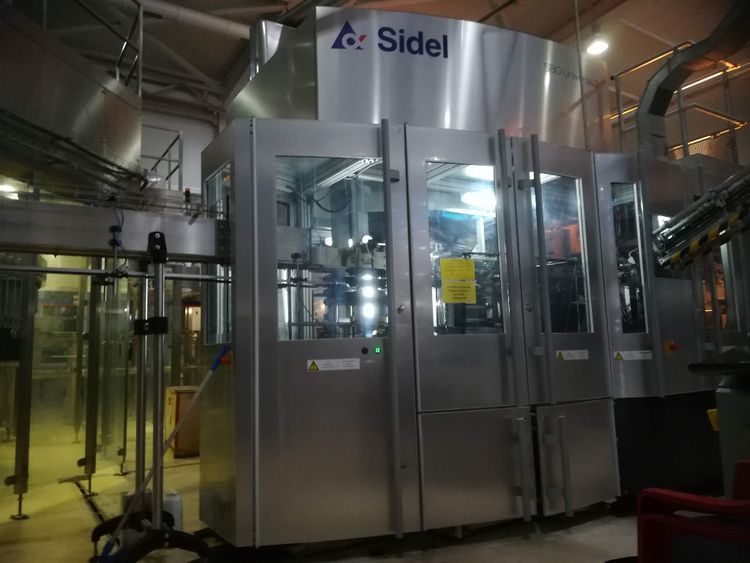 Sidel SBO 8/10 Universal based Carbonated Soft Drinks & Beer filling line