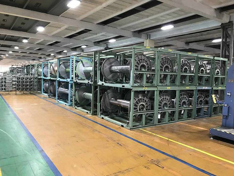 24 Others Warping beams with Unrolling Racks