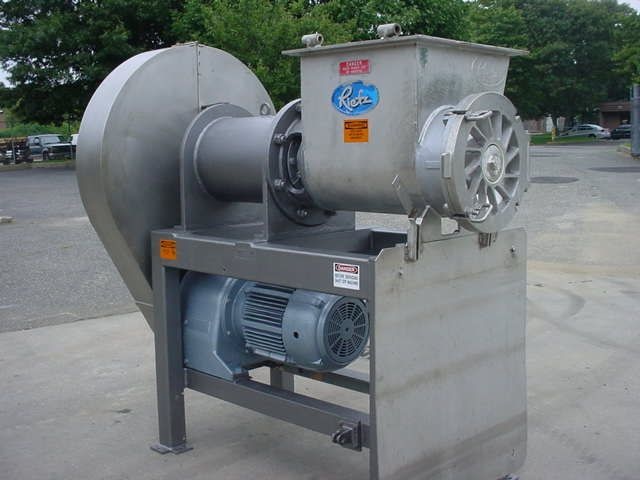 """Rietz RE-15"""" STAINLESS STEEL EXTRUCTOR"""