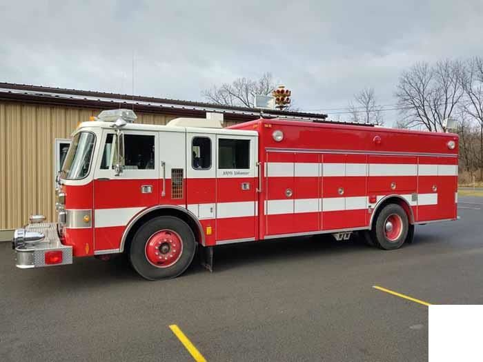 Pierce Lance Rescue Truck