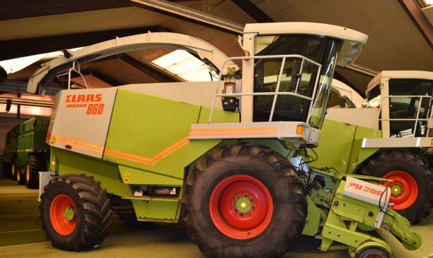 Claas Forage harvesters
