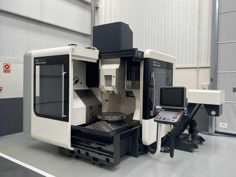 DMG DMG HSC75 LINEAR 5 AXIS MACHINE CENTER 5