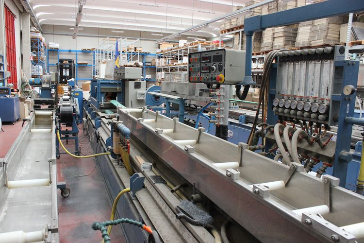 Bausano TWIN SCREW PVC EXTRUDER for pipes/profiles