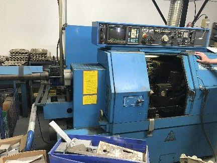 Miyano Fanuc OT CNC Control and Bar Feeder. 5000 rpm BNC-34C 1992 2 Axis