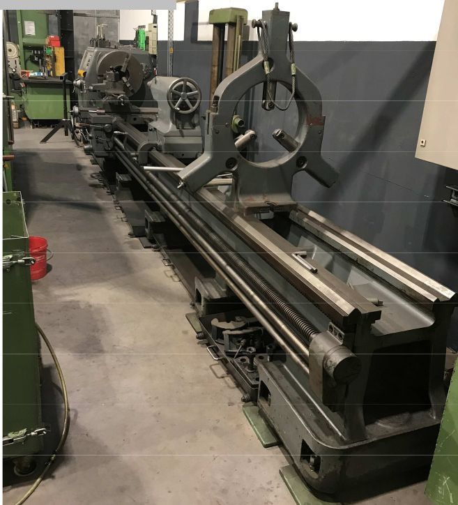 Wohlenberg Engine Lathe 710 U/min V1000
